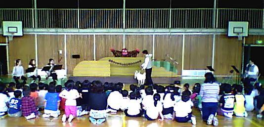 伊勢でのモック学校公演
