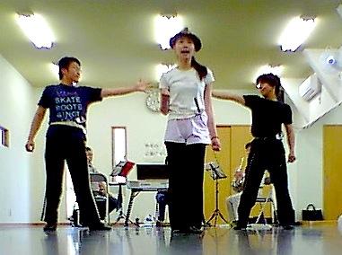 ミュージカル「三人で三銃士」リハーサル